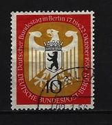 BERLIN - Mi-Nr. 129 Deutscher Bundestag In Berlin Gestempelt (2) - Gebraucht