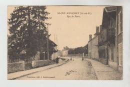 CPA SAINT ARNOULT EN YVELINES (Yvelines) - Rue De Paris - St. Arnoult En Yvelines