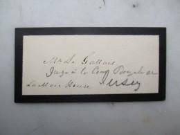 CARTE DE VISITE BELGIQUE (V1618) M. De Gassais (2 Vues) - Cartes De Visite