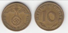 **** ALLEMAGNE - GERMANY - 10 REICHSPFENNIG 1938 F - 3ème REICH - THIRD REICH **** EN ACHAT IMMEDIAT