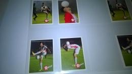 4 Card Serie Completa Ringo STEPHAN EL SHAARAWY ,calciatori Figurine Sticker Panini Lot N 1 - Panini
