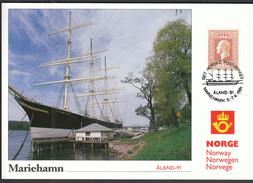 Norway 1991 / Philatelic Exhibition ALAND Mariehamn / MC - Philatelic Exhibitions