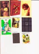 8 Calendriers De Poche Années 1927-31-32-34-37-38-39-40. Ilustrateur 1939 : Edouard Bernard - Autres Collections