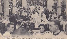 """CHAUMONT Fete Du Grand Pardon ( 24 Juin 1928)  Reposoir"""" A Jeanne D ARC ° Fin De La Cérémonie - Chaumont"""