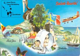 Guadeloupe- SAINT BARTHÉLEMY SAINT BARTH´ Ile Des Antilles Françaises Editions Du Pélican Illustration De Tibitin - Saint Barthelemy