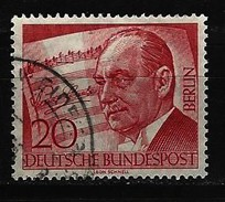 BERLIN - Mi-Nr. 156 - 10. Todestag Von Paul Lincke Gestempelt - Berlin (West)