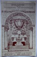 """Bulletin Religieux De """"la Neuvaine Perpétuelle Au Sacré Coeur"""" - Bourges (cher) 1925 - Non Classés"""