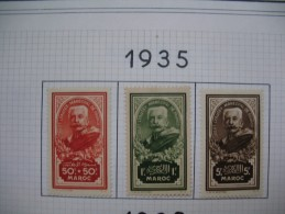Maroc   Neufs      Série Complète   N° 150 à 152 - Morocco (1891-1956)
