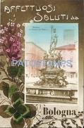 62973 ITALY BOLOGNA EMILIA ROMAÑA SOURCE OF NETTUNO POSTAL POSTCARD - Italien