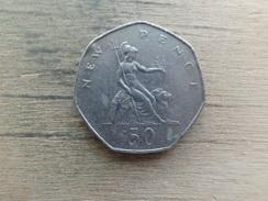 Grande-bretagne  50  New Pence  1978  Km 913 - 1971-… : Monnaies Décimales
