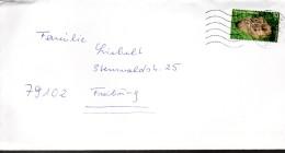 ALLEMAGNE   Lettre  Lapins Lievres - Konijnen