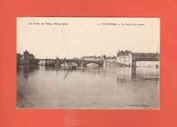 * CPA..dépt 60..COMPIEGNE :  Le Pont , Vu En Amont - La Crue De L' Oise En Mars 1910  : Voir 2 Scans - Compiegne