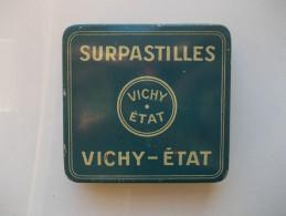- Boite Métal. Superpastilles Vichy-Etat - - Boîtes