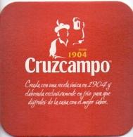 #D130-064 Viltje Cruzcampo - Sous-bocks