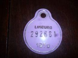 CB10 Fietsplaat Plaque Immatriculation Vélo Limburg 1979 292661 - Plaques D'immatriculation