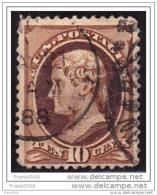 USA 1870, Thomas Jefferson, 10c, Used - Usados