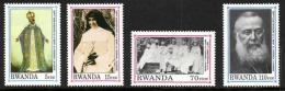 Rwanda - 1388/1391 - Cardinal Lavigerie - 1992 - MNH - Rare ! - Rwanda