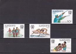 Swaziland Nº 456 Al 459 - Swaziland (1968-...)