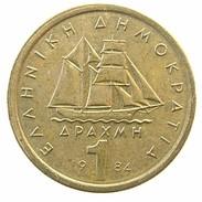 1 Drachma 1984 - Grecia