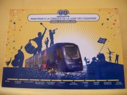 TRAIN 1407 - INAUGURATION TRAM-TRAIN A LA CONQUETE DE LA LIGNE DES COQUETIERS BONDY/AULNAY SOUS BOIS - 18 NOVEMBRE 2006 - Trains