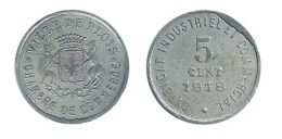 N2770 - Blois: Chambre De Commerce: 5 Ct 1918 - Monetary / Of Necessity