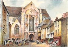 Illustrateur - RENNES - L'Eglise Et La Place St Germain - M. Barré & J. Dayez - Illustrateurs & Photographes