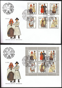 Latvia 1993 / Traditional Costumes