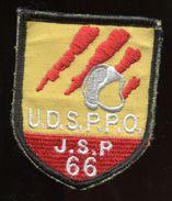 écusson En Tissus Scratch - UDS Pro JSP 66 - Jeune Sapeurs Pompiers - Casque Pompier - Firemen
