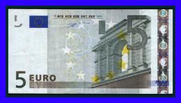 "5 EURO ""X""GERMANY Firma DUISENBERG P001 G2 CIRCULATE RARE!!!!! - EURO"
