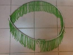 Decor En Verre (perle Verte) Pour Luminaire Ancien Pour Abat Jour( - Luminaires