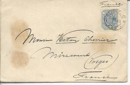 "Transvaal  De Standerton>> Mirecourt 1898 Timbres 118 ""south African Philatelic Society Standerton Transvaal - Afrique Du Sud (1961-...)"