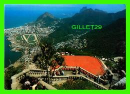 RIO DE JANEIRO, BRESIL - VISTA PANORÂMIQUE DA GAVEA - FROM CORCOVADO ROCK - WRITTEN - MERCATOR - - Rio De Janeiro