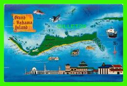 CARTES GÉOGRAPHIQUES - MAP OF GRAND BAHAMA ISLAND - CALYPSO DISTRIBUTORS LTD - - Cartes Géographiques