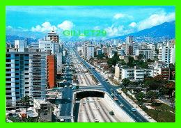 CARACAS, VENEZUELA - LIBERTADOR AVENUE, AERIAL VIEW - EDICIONES Y DISTRIBUCIONES CARLOS - - Venezuela