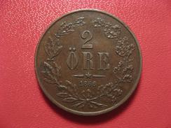 Suède - 2 Ore 1866 - Superbe 9408 - Sweden