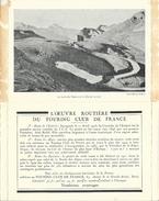 Carte-Lettre Offerte Par Le Touring-club De France - Route De L'Esterel, Des Alpes, Des Pyrénées - Cartes Postales