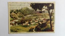 B1 CARTOLINE, POSTCARD, ITALY, ITALIA, CARTOLINA, REGIONALE, MARCHE, PESARO, ACQUALAGNA Panorama - Pesaro