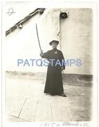 63027 ITALY MONDOVI CUNEO PARISH PRIEST YEAR 1915 PHOTO NO POSTAL TYPE POSTCARD - Photographie