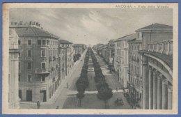 ANCONA -Viale Della VIttoria - F/P B/N Cartonata (130709) - Ancona