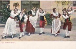 Italy Locals Dancing The Tarantella