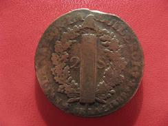2 Sols 1792 A Paris Louis XVI 2476 - 1789-1795 Period: Revolution