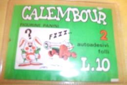 CALEMBOUR - Bustina Piena PANINI (140213) - Altre Collezioni