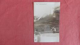 > Venezuela Caracas== RPPC--El Calvario  --- As Is Removed From Album    ----- Ref 2420 - Venezuela