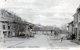 Cpa(08) Chatel-chehery  --  Grande-rue - Altri Comuni