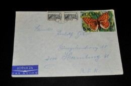 4- Umschlag Von Polska Nach Hamburg - 1944-.... Republik