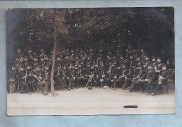 """Carte Photo - Militaria - A Situer - """"Bonjour De St Denis"""" - Fanfare Militaire - Régiments"""
