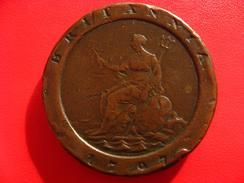 Grande-Bretagne - 2 Pence 1797 3014 - 1662-1816 : Anciennes Frappes Fin XVII° - Début XIX° S.
