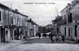 PUYLAROQUE  La Poste - Autres Communes