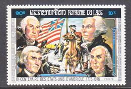 LAOS  269 H  **  AMER.  BICENT. - Unabhängigkeit USA