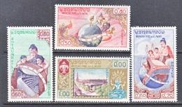 LAOS  48-51  *  UNESCO - Laos